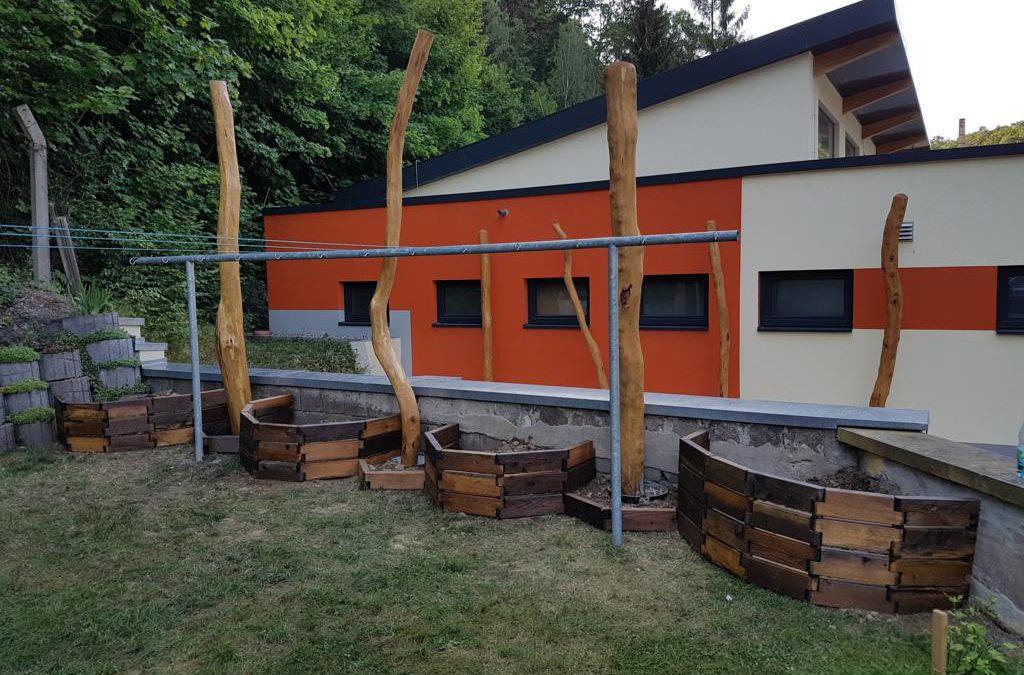 "Projekt ""Grünes Klassenzimmer"" an der Grundschule Tharandt"