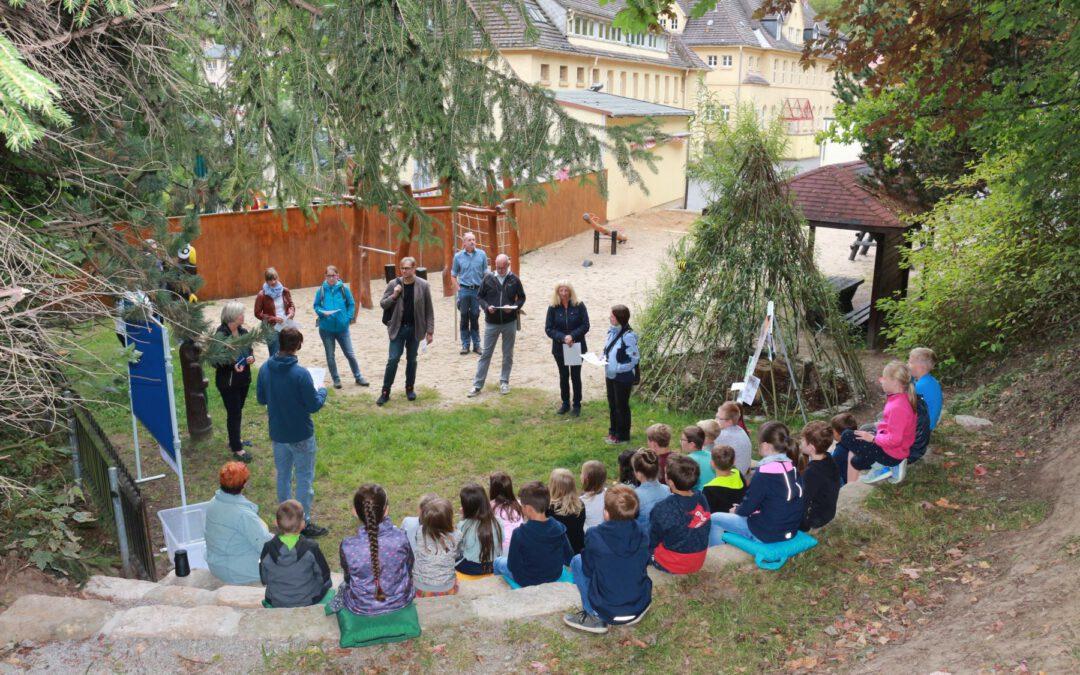 Sächsischer Schulgartenwettbewerb – Die Jury war da